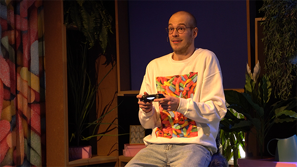 Showmaster Tim Steinheimer